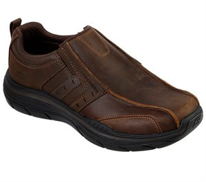 Brown Skechers Relaxed Fit: Expected 2.0 - Wildon - FINAL SALE