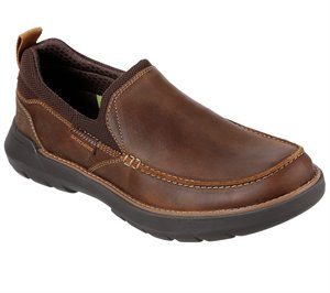 Brown Skechers Relaxed Fit: Doveno - Kanter