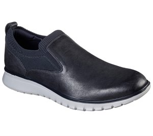 Gray Navy Skechers Neo-Casual - Canby