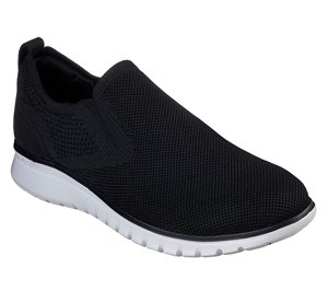 White Black Skechers Neo Casual - Lewes