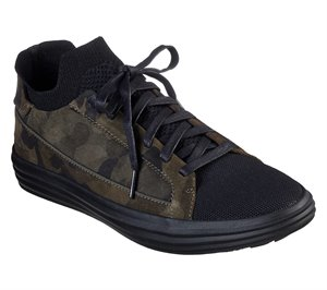 Black Olive Skechers Shogun - Down Time