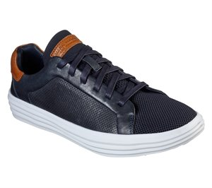 White Navy Skechers Shogun - Bandon