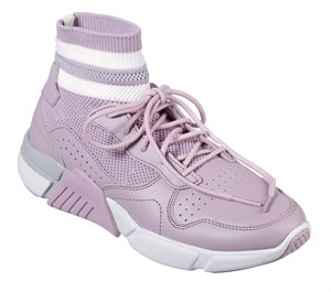 Purple Skechers Block - Varsity