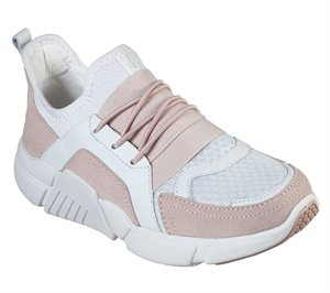 Pink White Skechers Block - Homeroom