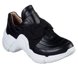 White Black Skechers Neo Block - Billie