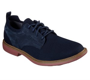 Natural Navy Skechers Clubman - Westside