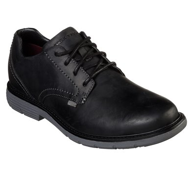 Gray Black Skechers Lite Lugg - Del