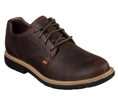 Brown Skechers Lite Lugg - Del