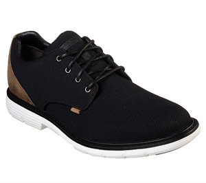 White Black Skechers Lite Lugg - Hayden - FINAL SALE