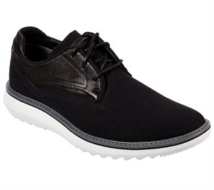 White Black Skechers Mako - Stayton