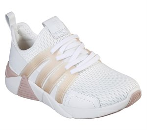 Pink White Skechers A-Line - Base
