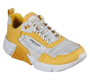 Yellow Skechers Block - West
