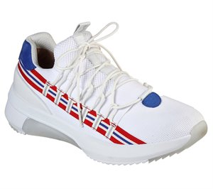 Red White Skechers Modern Jogger 2.0 - Loop