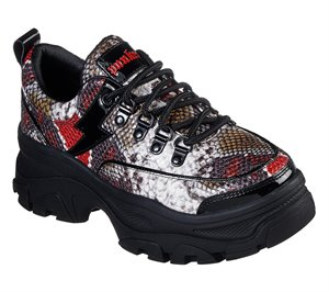 Red Black Skechers Master - Medusa