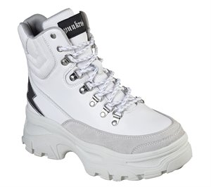 White Skechers Master - Strikers