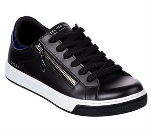 Black Skechers Prima - Zip Siders
