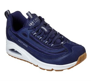 Navy Skechers Uno - Roundabout