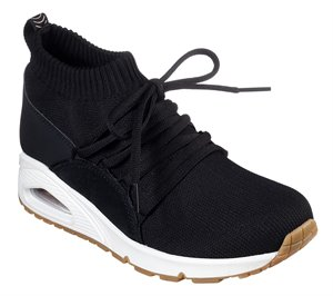Black Skechers Uno - Wrapped Up