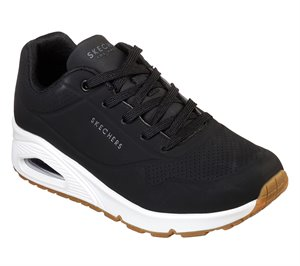 Black Skechers Uno - Stand on Air - FINAL SALE