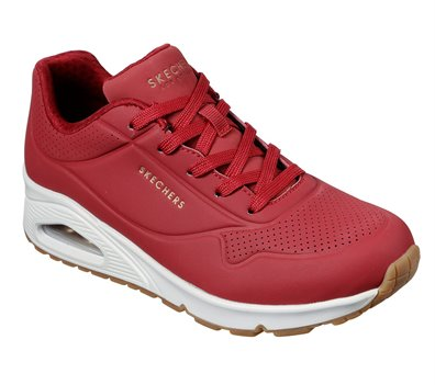Red Skechers Uno - Stand on Air