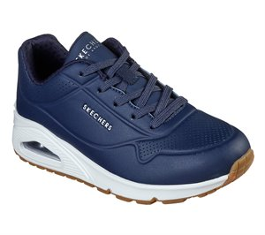Navy Skechers Uno - Stand on Air