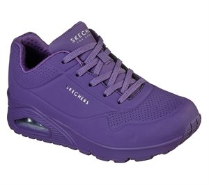 Purple Skechers Uno - Stand on Air