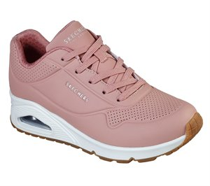 Pink Skechers Uno - Stand on Air