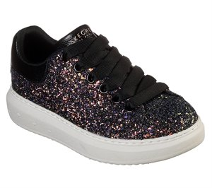 Multi Black Skechers High Street - Glitter Rockers
