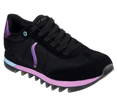 Black Skechers Venus - Shredded