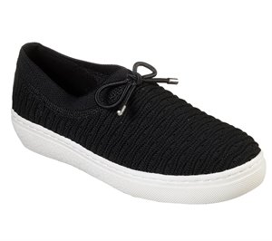 Black Skechers Goldie - Wavy Waze