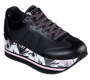 Black Skechers Highrise - City Bloomz