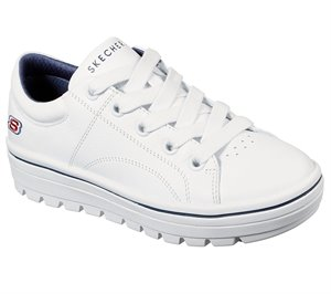 Navy White Skechers Street Cleats 2 - Spangled