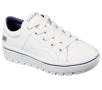 Navy White Skechers Street Cleats 2 - Spangled - FINAL SALE