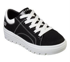 Black Skechers Street Cleat - Bring It Back