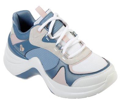 Multi Blue Skechers Solei St. - Groovy Sole