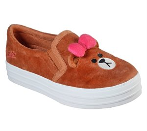 Brown Skechers Line Friends: Double Up - Plush Pals