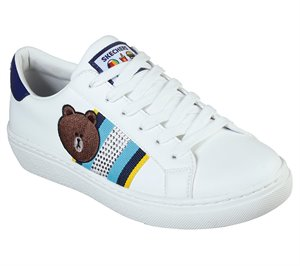 Navy White Skechers Line Friends: Goldie - Cool Crew