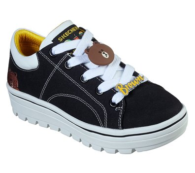 Black Skechers Line Friends: Street Cleat 2 - Friends - FINAL SALE