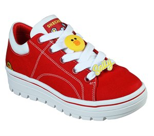 Red Skechers Line Friends: Street Cleat 2 - Friends