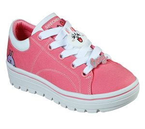 Pink Skechers Line Friends: Street Cleat 2 - Friends