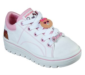 Pink White Skechers Line Friends: Street Cleat 2 - Friends