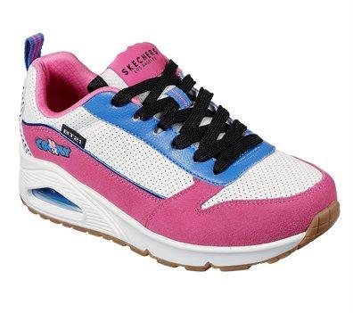 Pink White Skechers Uno - BT21 - FINAL SALE