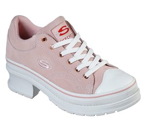 Pink Skechers Heartbeats - Softy