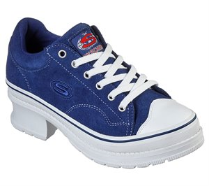 Navy Skechers Heartbeats - Softy