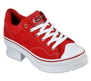 Red Skechers Heartbeats - Softy