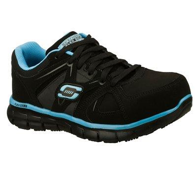 BlueBlack Skechers Work: Synergy - Sandlot Alloy Toe - FINAL SALE
