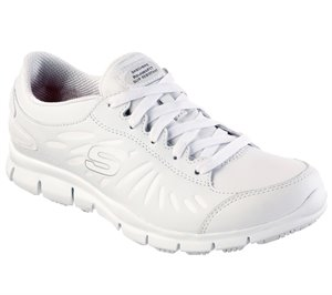 White Skechers Work Relaxed Fit: Eldred - Dewey SR