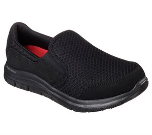 Black Skechers Work Relaxed Fit: Cozard SR