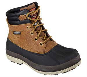 Brown Skechers Work: Robards - Alberton SR
