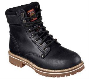 Black Skechers Work: Brooten ST
